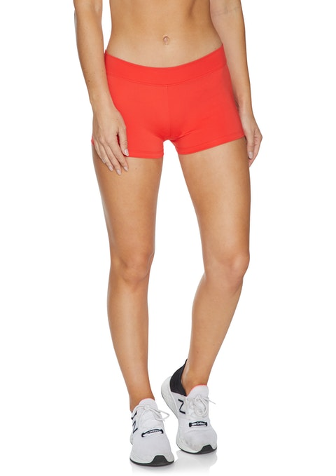 Rosso Cool Touch Low Rise Booty Shorts