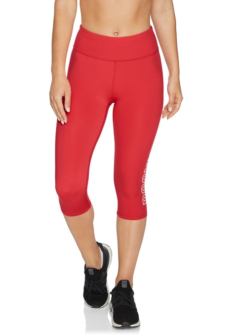 Rosso Cool Touch Rockwear Logo 3/4 Tights