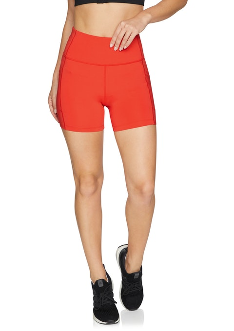 Rosso Olympia Pocket Bike Shorts