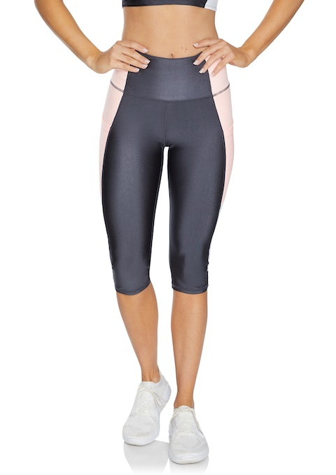 Gunmetal Safari Pocket 3/4 Tights