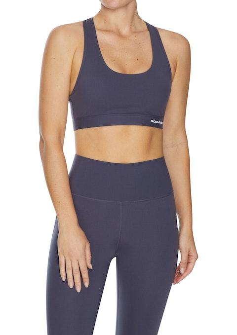 Boysenberry Luxesoft™ Medium Impact Cross Back Sports Bra