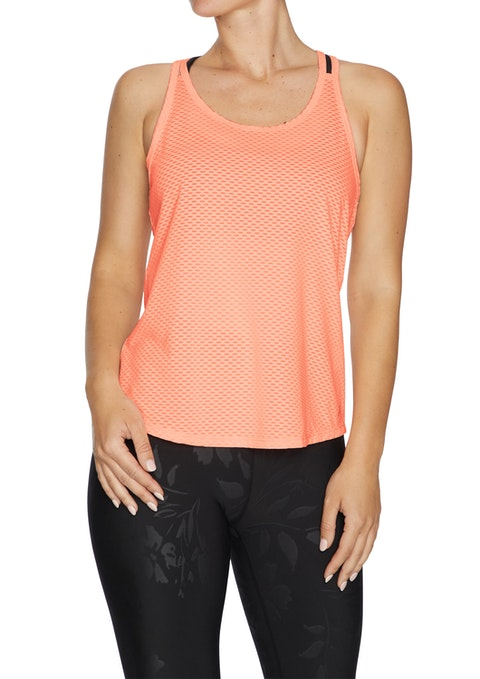 Coral Rockwear Double Strap Active Singlet