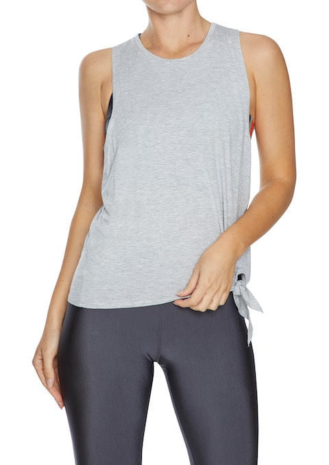 Light Grey Marle Lift Side Tie Active Tank