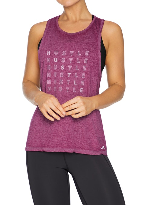 Mulberry Energy Twist Back Casual Singlet