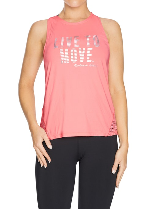 Flamingo Motivate Mesh Active Singlet