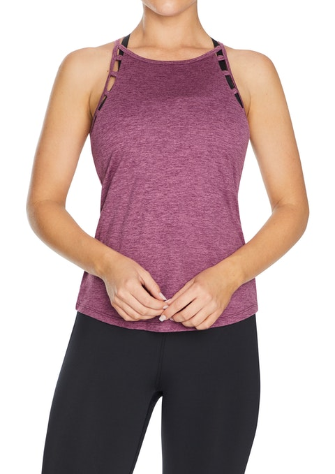 Mulberry Ladder Armhole Singlet