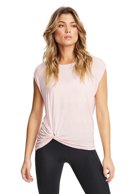 Ballet Connect Twist Side Training Tee