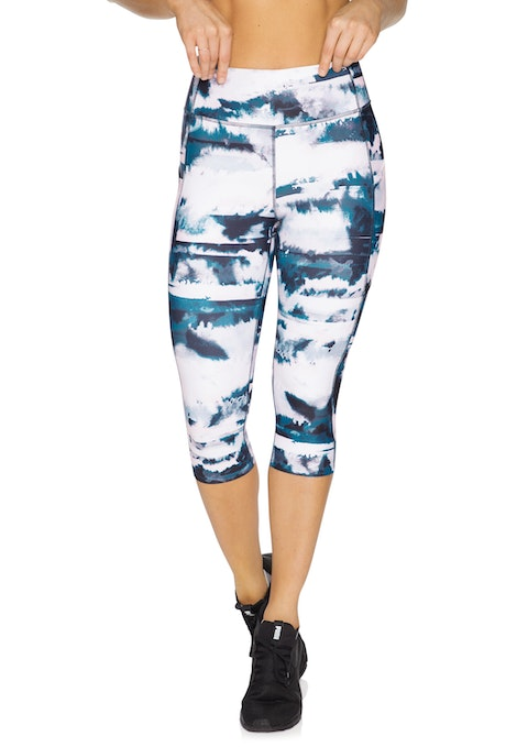 Mantra Mantra Print Pocket 3/4 Tights