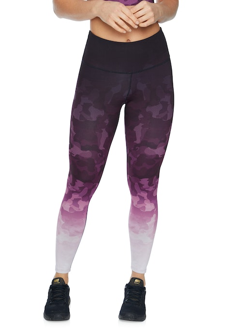 Verry Berry Ombre Very Berry Ombre Camo Full Length Tights
