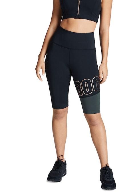 Black Force Logo Bike Shorts