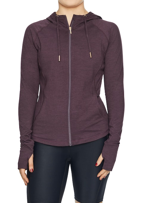 Berry Revive Hooded Jacket