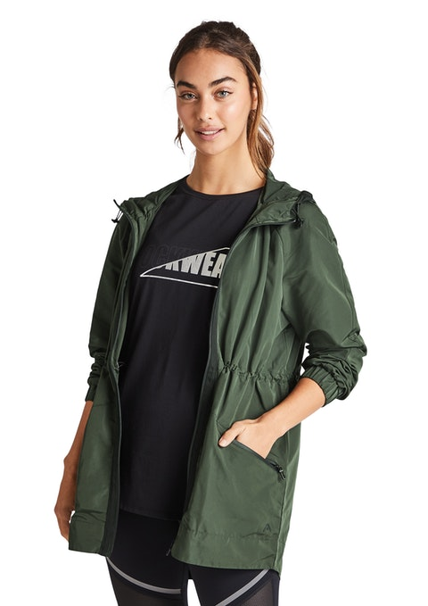 Khaki Shower Proof Jacket