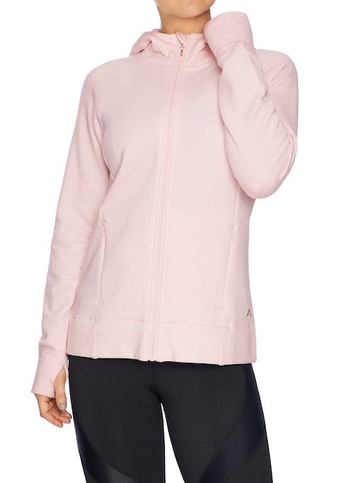 Ballet Hooded Zip Casual Jacket