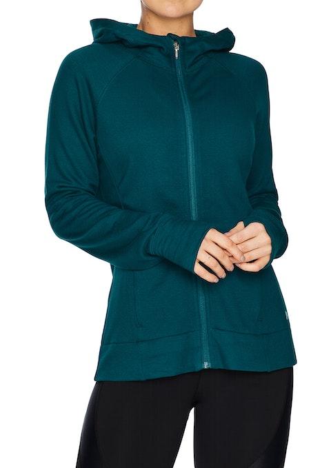 Jewel Hooded Zip Casual Jacket