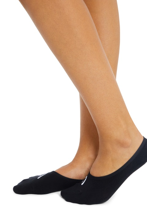 Black No Show Low Cut Sock