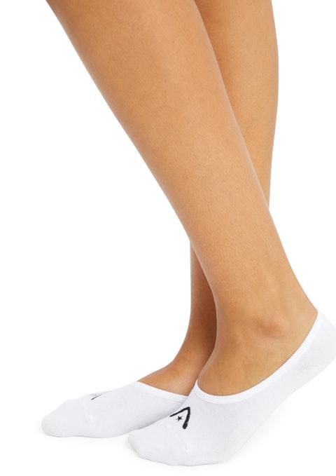 White No Show Low Cut Sock