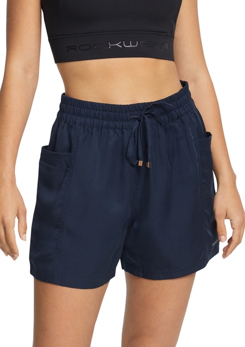 Deep Sea Woven Pocket Shorts