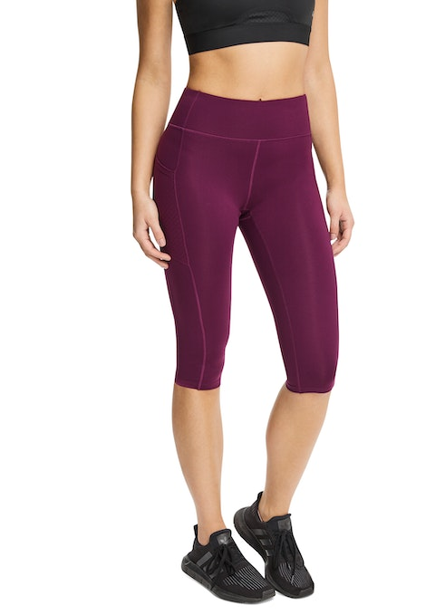 Bordeaux 3/4 Perforated Pocket Tight