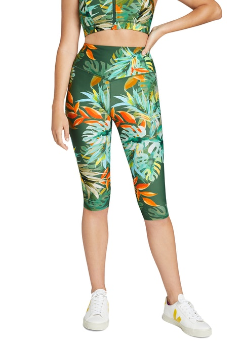 Luau Luau V Waist Printed 3/4 Tights