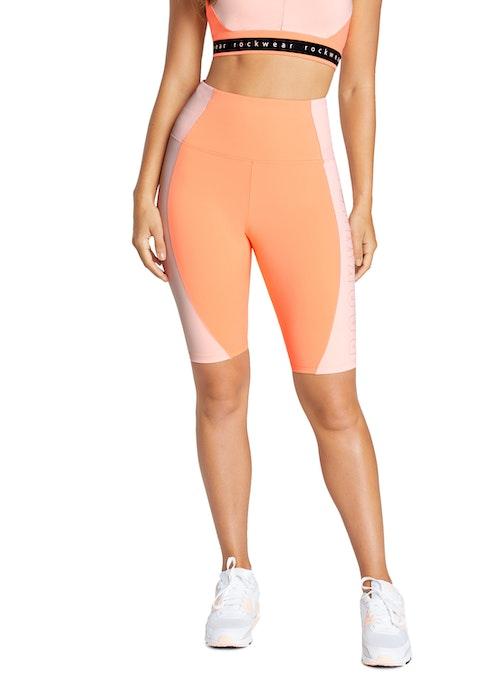 Melba Just Peachy Blocked Bike Shorts