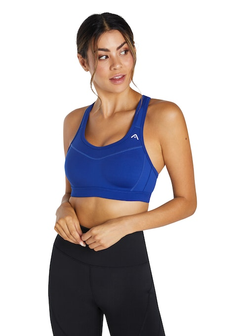 Sapphire Moulded High Impact Olympic Sports Bra