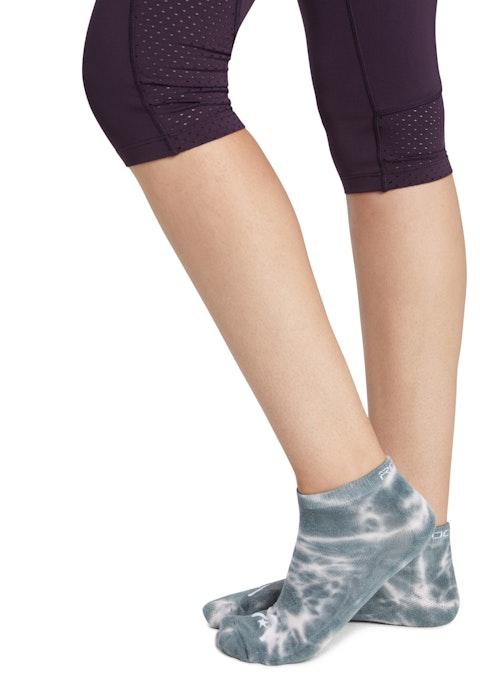 Moss Tie Dye Training Ankle Cut Socks