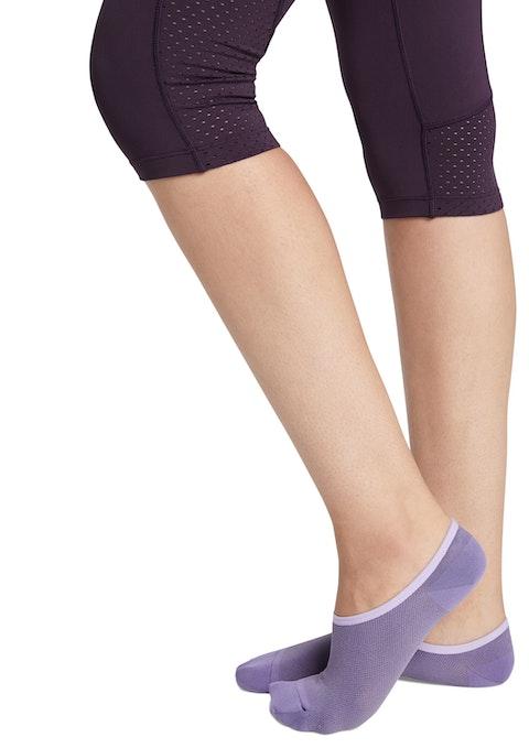 Smoky No Show Ankle Cut Socks
